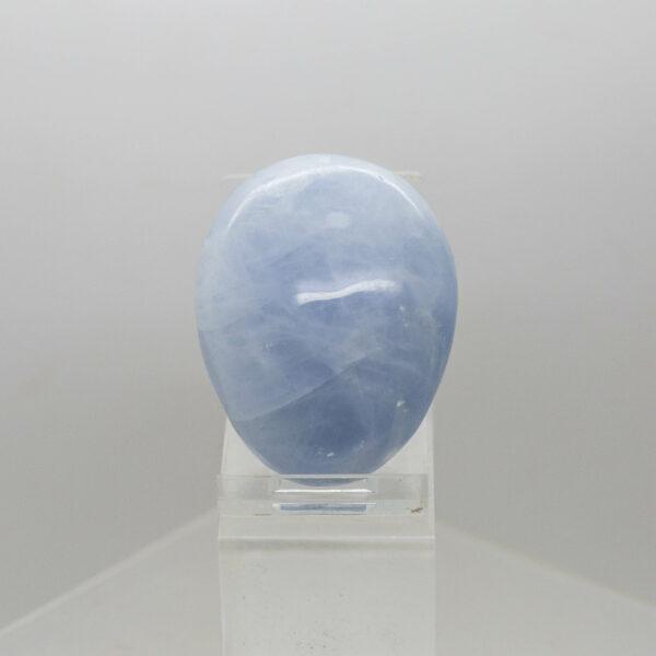 Blue Calcite Hand Stone