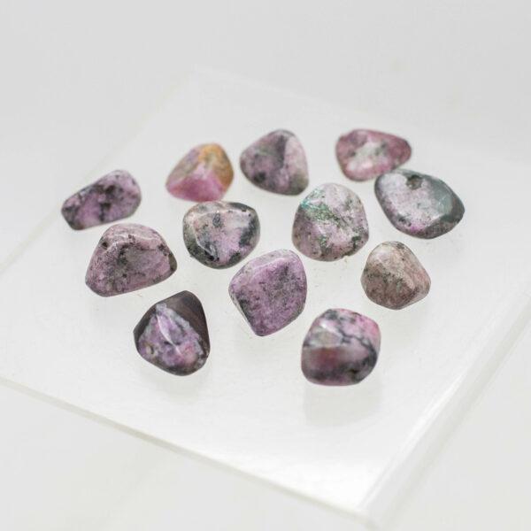 Cobaltian Calcite Tumbled Stones