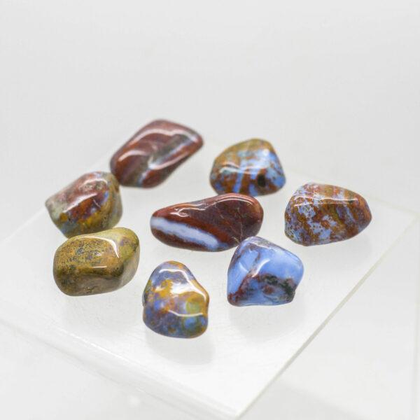 Fancy Jasper Tumbled Stones