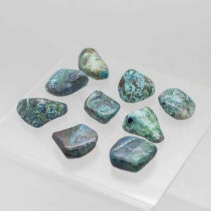 Shattuckite Tumbled Stones
