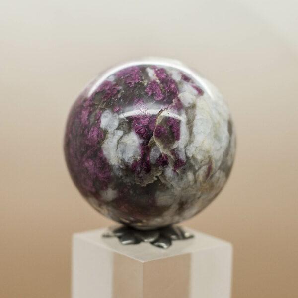 Rubellite Sphere (3)
