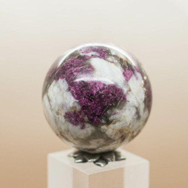 Rubellite Sphere (7)