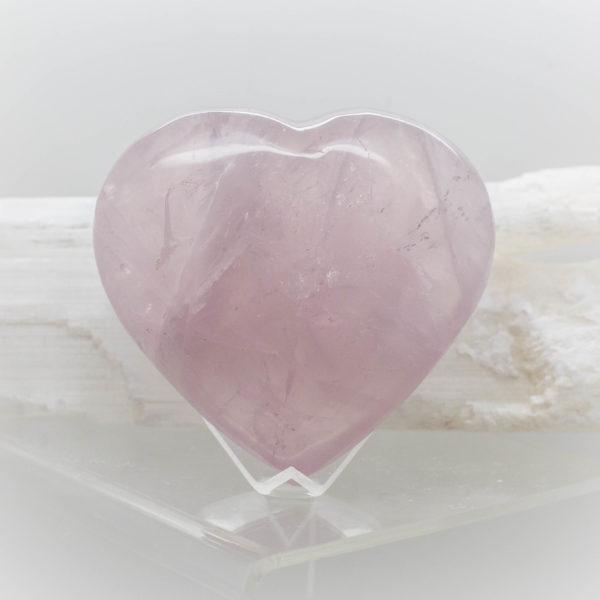 Rose Quartz Heart (6)