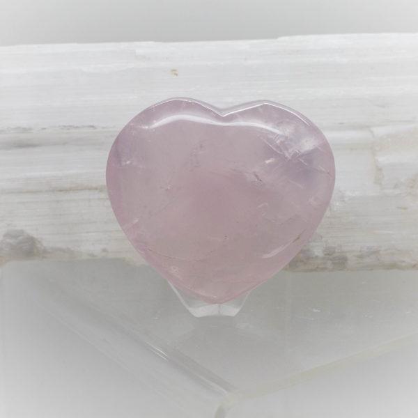 Rose Quartz Heart (5)