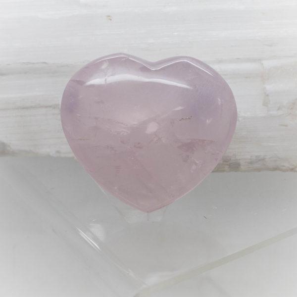 Rose Quartz Heart (2)
