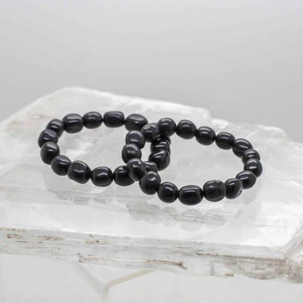 Shungite Tumbled Stone Bracelet