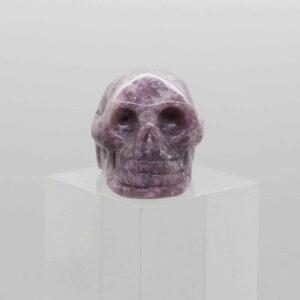 Lepidolite Skull (1)