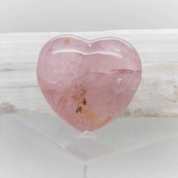 Rose Quartz Heart (1)