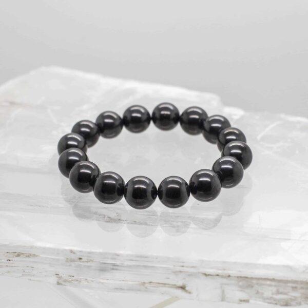 Shungite Bead Bracelet (1)