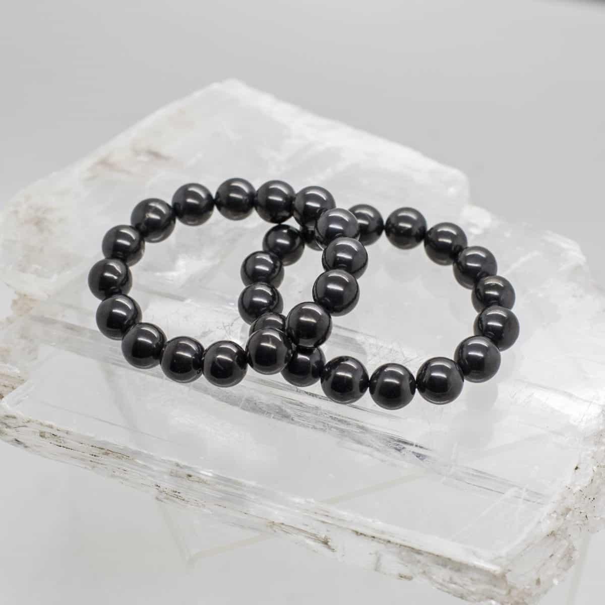 Shungite Bead Bracelet (2)