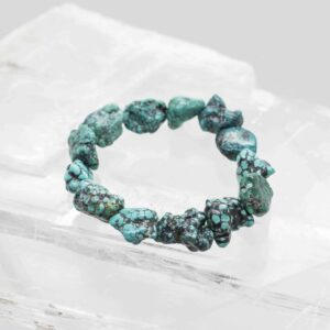Turquoise Chunky Tumbled Bracelet (2)
