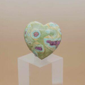 Ruby And Fuschite Heart (1)