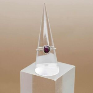 Ruby And Zoisite Faceted Ring (1)