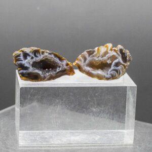 Agate Geode Pair (1)