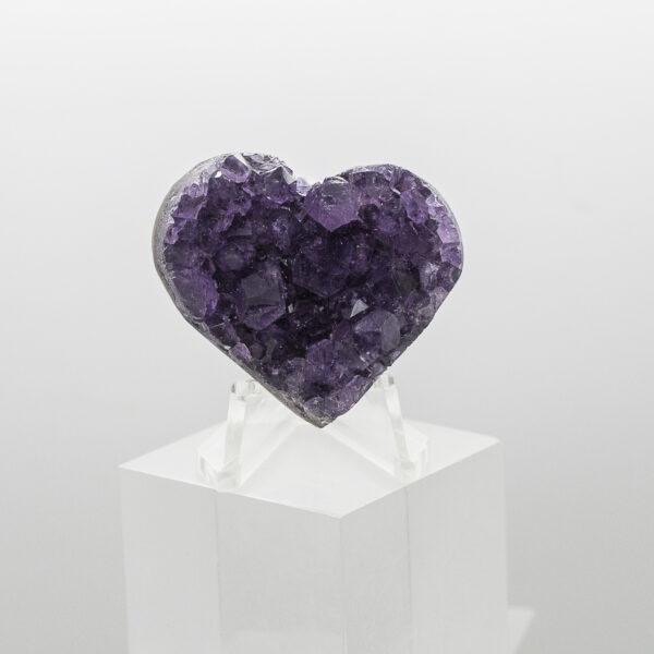 Amethyst Cluster Heart (1)