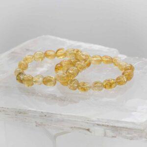 Citrine Tumbled Bracelet (1)