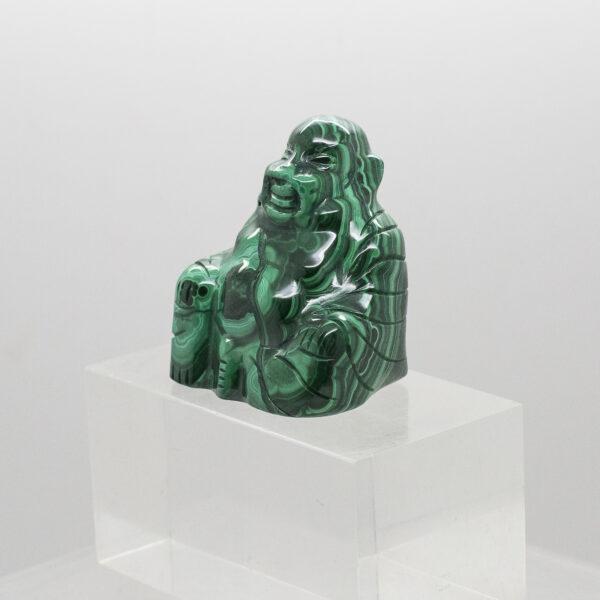 Malachite Buddha (2)