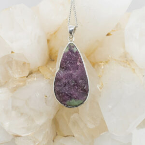 Ruby And Zoisite Pendant (1)