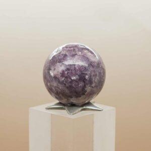 Lepidolite Sphere (5)