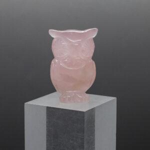 Rose Quartz Owl (7)