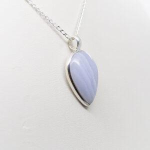 Blue Lace Agate Pendant (2)