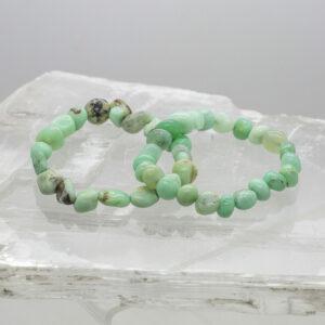 Chrysoprase Tumbled Bracelet (1)