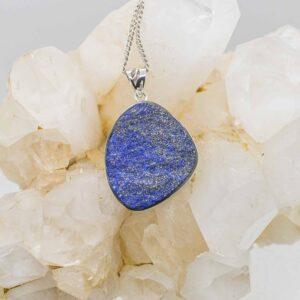 Lapis Lazuli Natural Stone Pendant (2)