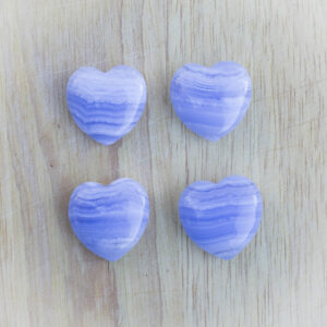 Blue Lace Agate Heart (2)