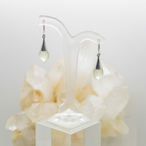 Prehnite Faceted Earrings (1)