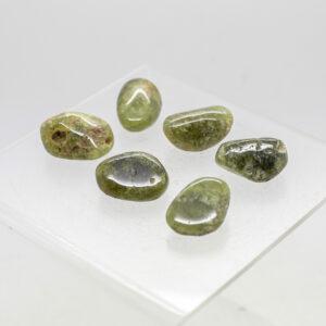 Green Garnet Tumbled Stones