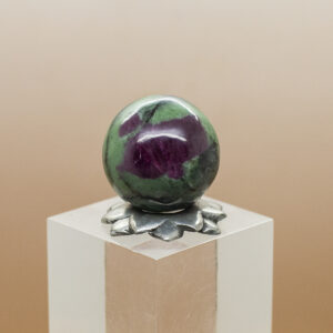 ruby andd zoisite sphere (2)