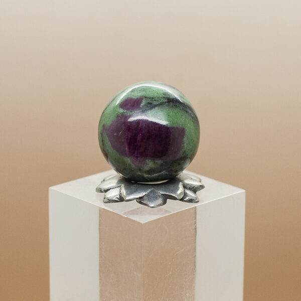 ruby andd zoisite sphere (3)
