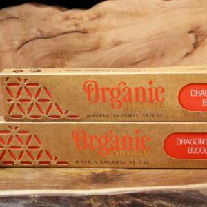 Dragons Blood Organic Incense