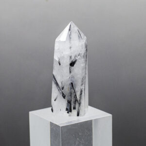 Tourmalined Quartz Point (1)