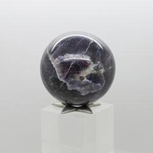Iolite Sunstone Sphere (1)