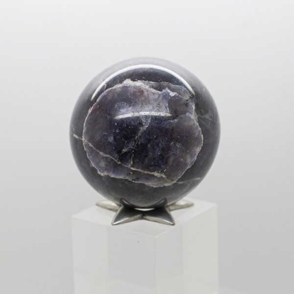 Iolite Sunstone Sphere (2)
