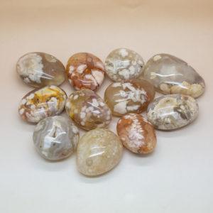 Flower Agate Hand Stone (1)