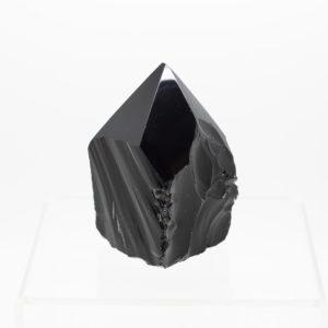 black obsidian polished point (1)