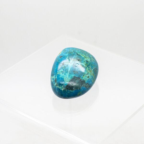 chrysocolla malachite hand stone (3)