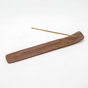 plain wood incense holder