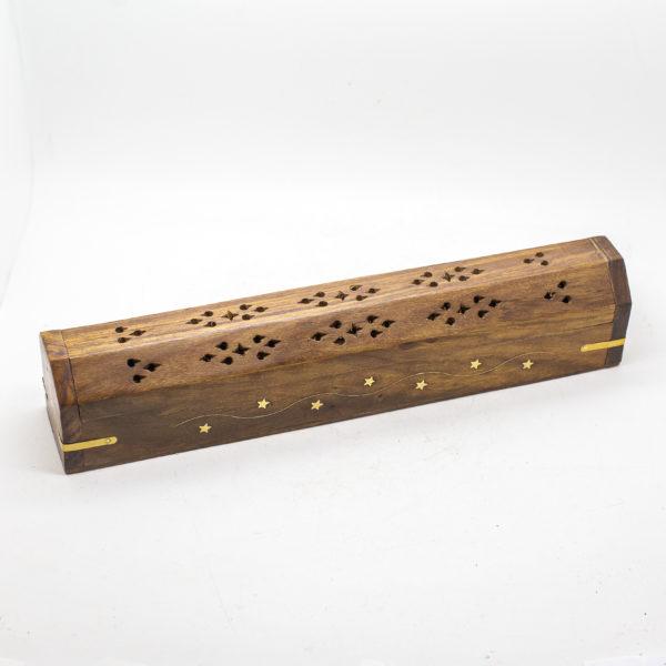 wood hut incense burner (1)